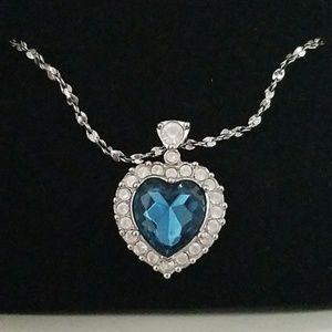 Heart Of Ocean Necklace Avon Celine Dion